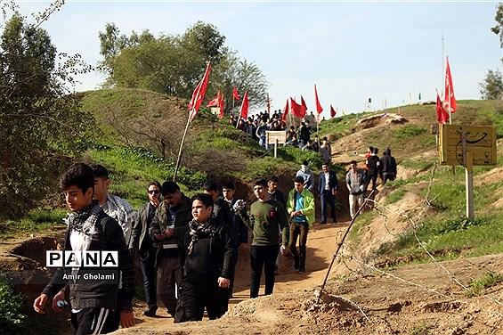 اردوی دانشآموزی راهیان نور و آشنایی با فرهنگ مقاومت