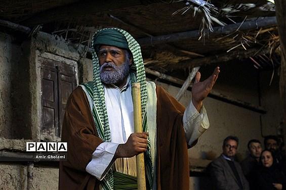 افتتاحیه نمایش واره فرهنگی مذهبی کوچههای بنی هاشم