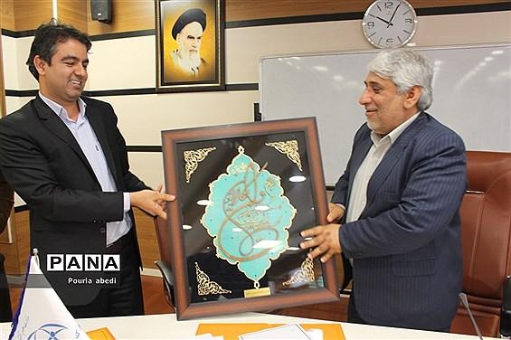 جلسه کارشناسان فناوری آموزش و پرورش شهرستانها و مناطق  استان بوشهر