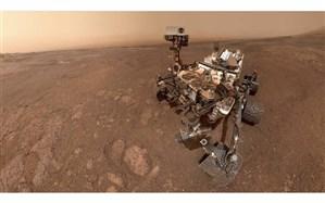 سلفی جدید کاوشگر کنجکاوی از مریخبه زمین رسید + تصویر