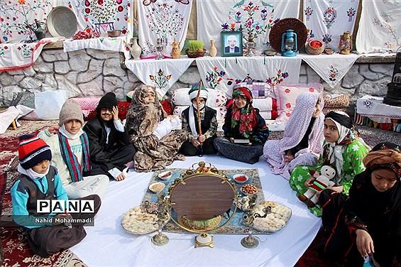 جشنواره خاوران شناسی درآموزشگاه دکتر غفرانی شهرستان بیرجند