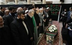 پیکر مرحوم محمدنبی حبیبی تشییع  شد