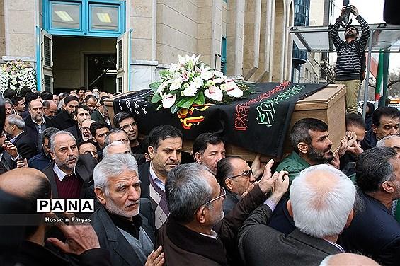 مراسم تشییع پیکر محمد نبی حبیبی، دبیر کل حزب موتلفه اسلامی