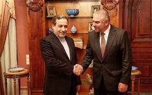 دیدار عراقچی با معاون پارلمان بلغارستان