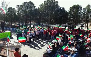 مراسم گلبانگ انقلاب در خوسف برگزار شد