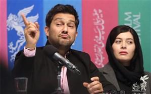 کل کل حامد بهداد با خبرنگاران در حاشیه جشنواره فیلم فجر