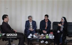 نمایندگان مجلس دانش آموزی استان کردستان با مدیر کل آموزش و پرورش استان دیدار کردند