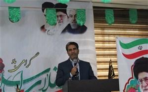 محمد صیدلو : در کنار نگاه خیرخواهانه به  حل مشکلات  از مواهب و محاسن انقلاب اسلامی هم سخن بگوییم