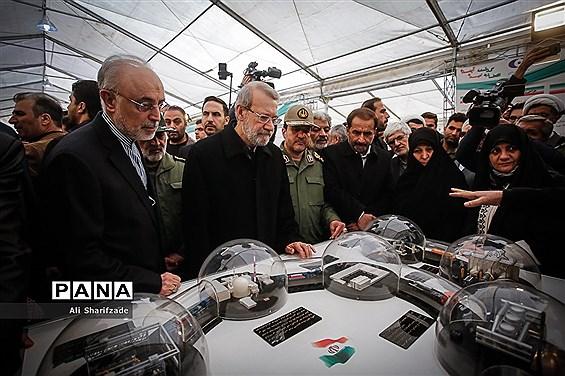 افتتاح نمایشگاه ملی دستاوردهای انقلاب اسلامی و دفاع مقدس