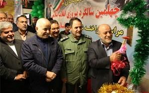 """مراسم شهرستانی گلبانگ """" انقلاب """" در آموزشگاه خیر ساز مرحوم حسنعلی علیپور ناحیه یک اردبیل برگزار شد"""