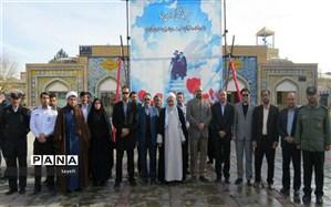 گرامیداشت سالگرد ورود حضرت امام خمینی (ره) به میهن اسلامی درگلبهار