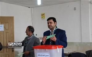 انتخابات مجامع اعضاء و مربیان  سازمان دانش آموزی برگزار شد