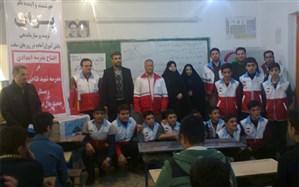 اولین مدرسه امداد و نجات در شهرستان خوی افتتاح شد