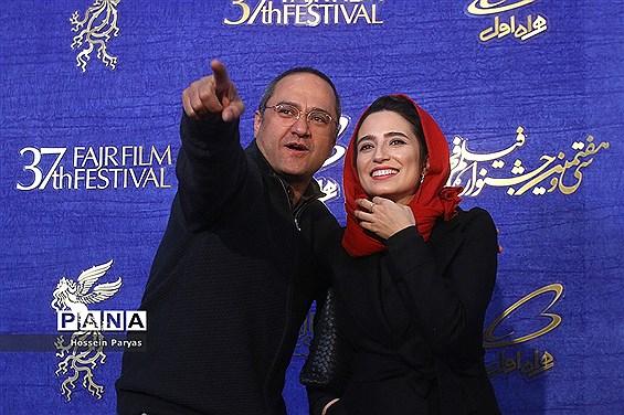 در حاشیه پنجمین روز سی و هفتمین جشنواره فیلم فجر