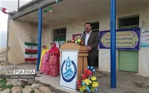 افتتاح پروژه آبرسانی به روستاهای حیدر آباد و پاچه کولا در لالی