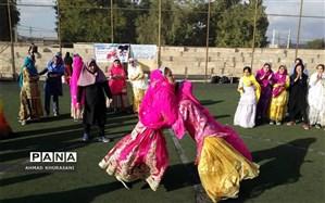 برگزاری  مسابقات ورزشی بومی محلی در مدارس شهرستان لالی