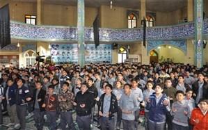 مراسم جشن تکلیف ویژه پسران پایه هشتم شهرستان اشتهارد برگزار شد