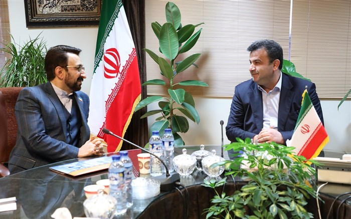 استاندار مازندران در دیدار سرکنسول جمهوری اسلامی ایران در آکتائو قزاقستان