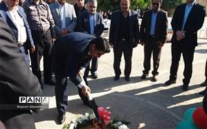 آیین کلنگ زنی دومین مدرسه خیر ساز در شهرستان امیدیه برگزار شد