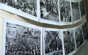 افتتاح نمایشگاه مدرسه انقلاب در رشت