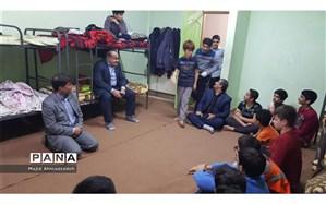 بازدید ناظر دفتر نظارت وزارت آموزشوپرورش از دبیرستان شبانهروزی ذبیحی بابل