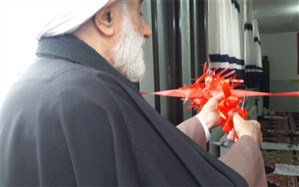 افتتاح نمازخانه جدید آموزشگاه پروین اعتصامی در اسلامشهر