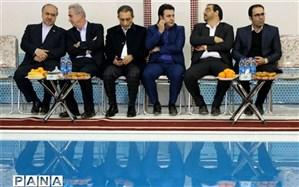 بهره برداری از استخر تخصصی شیرجه در تبریز با حضور وزیر ورزش و جوانان