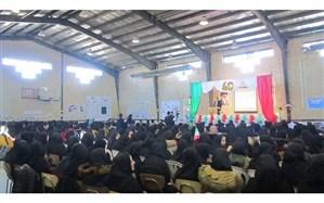 جشن با شکوه 40 سالگی انقلاب اسلامی در منطقه انگوران برگزار شد
