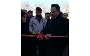 سالن ورزشی آموزشگاه صداقت روستای رحمت آباد افتتاح گردید