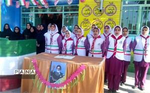 مراسم جشن  انقلاب در دبستان سید الشهدا