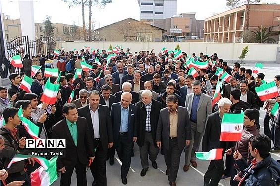 افتتاح دبیرستان خیرساز بنیاد فرهنگی مصلینژاد در سمنان-1