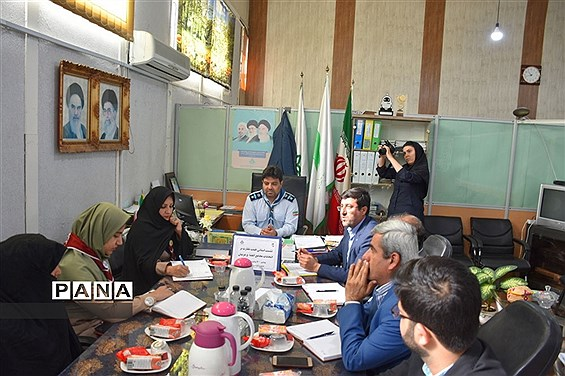 نشست استانی هیئت نظارت بر انتخابات مجامع اعضاء و مربیان سازمان دانشآموزی استان بوشهر