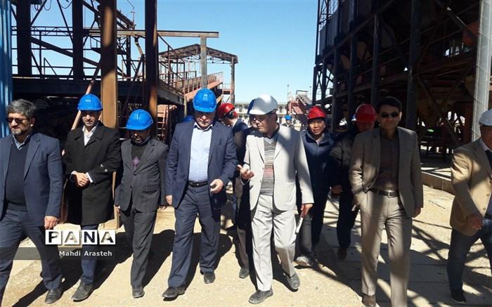 افتتاح  55   پروژه در خوسف در پنجمین روز از دهه مبارک فجر