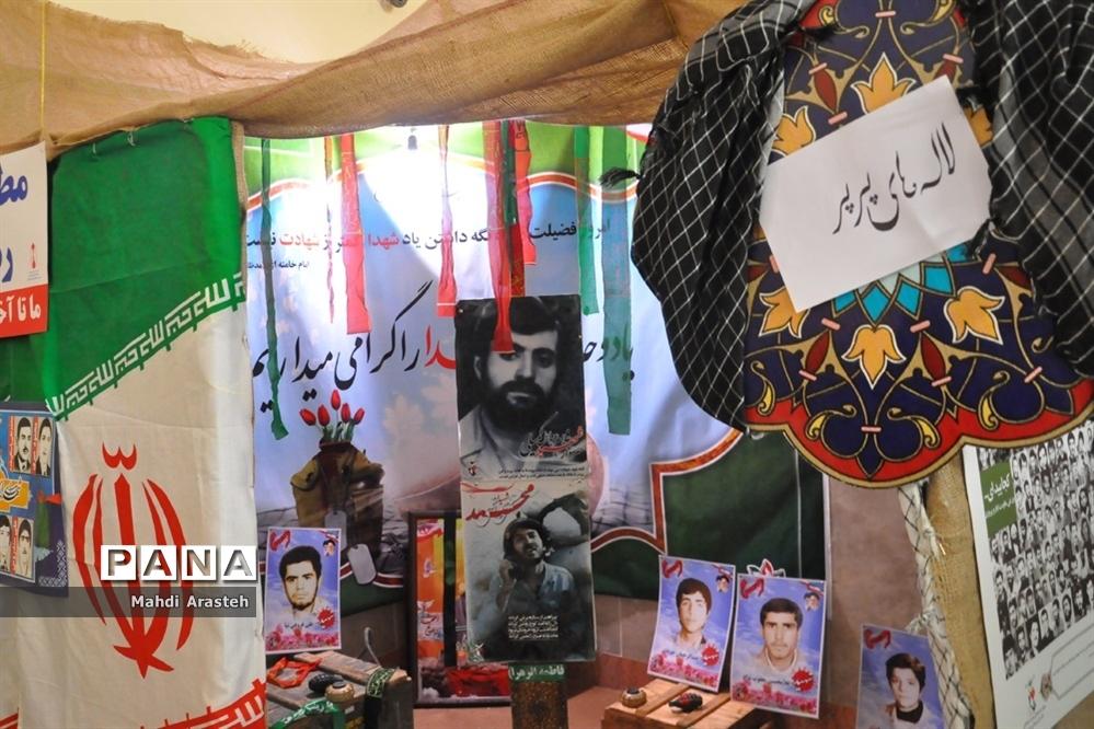 زیباسازی هنرستان البرز با تشکیل مدرسه انقلاب