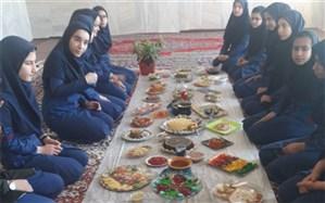 برگزاری جشنواره غذا در مدرسه راه زینب