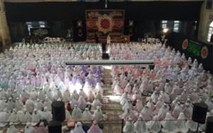 برگزاری اجتماع  ٢ هزار نفری دانش آموزان حافظ قرآن در همدان به مناسبت چهلمین سالگرد پیروزی انقلاب