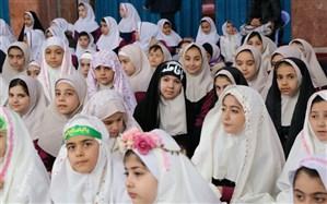 محفل انس با قرآن دانش آموزان ناحیه یک ارومیه برگزار شد