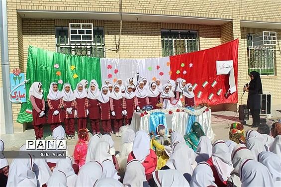 آیین گرامیداشت چهلمین سالگرد پیروزی انقلاب در گلهدار