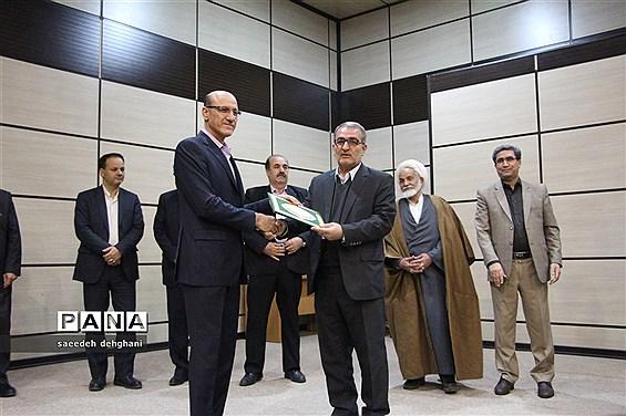 آیین تکریم و معارفه فرمانداران جدید و پیشین شیراز