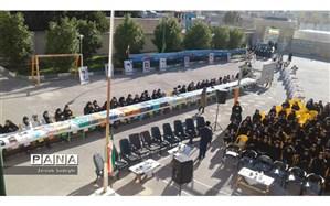 ۴۰ سال انقلاب اسلامی در بوم دانش آموزان کازرونی