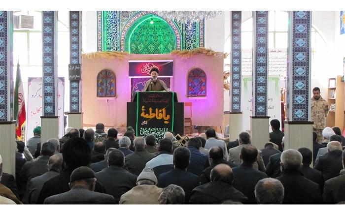 امام جمعه شهرستان فیروزکوه در خطبه های عبادی_سیاسی این هفته