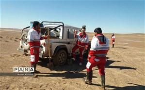 15 ساعت پس از عملیات هلال احمر: نجات 2 معدنکار در خوسف