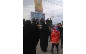همایش بزرگ پیاده روی در شهرستان گتوند برگزار شد
