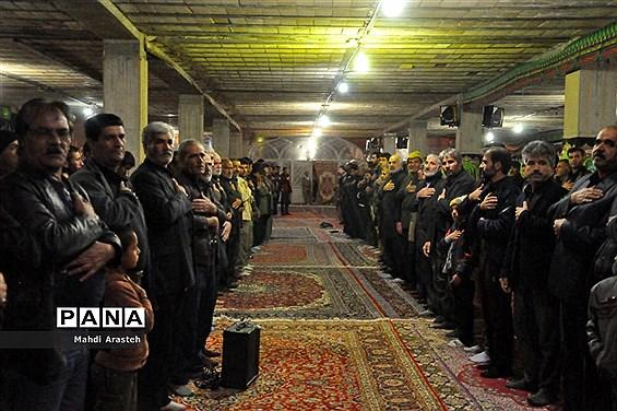 مراسم شام غریبان حضرت فاطمه زهرا(س) در هیات صاحب الزمانی شهرستان خوسف