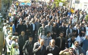 راهپیمایی 22 بهمن در سیستان و بلوچستان آغاز شد