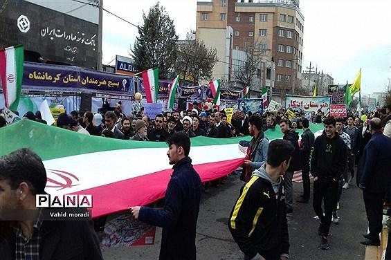 حضور مردم در راهپیمایی 22 بهمن