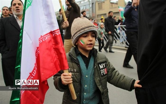 راهپیمایی یوم الله 22 بهمن در مشهد