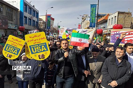 راهپیمایی باشکوه 22 بهمن در زنجان