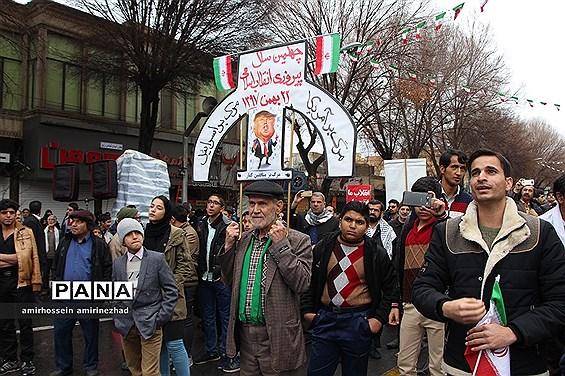 جشن چهل سالگی انقلاب در یزد