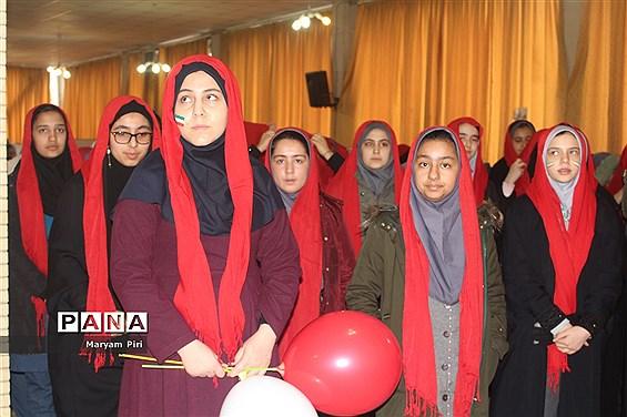 تمرین نهایی سرود 1357 نفری توسط دانش آموزان مدارس منتخب همدان